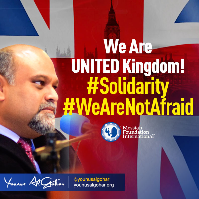 We Are UNITED Kingdom! | Westminster Attacks