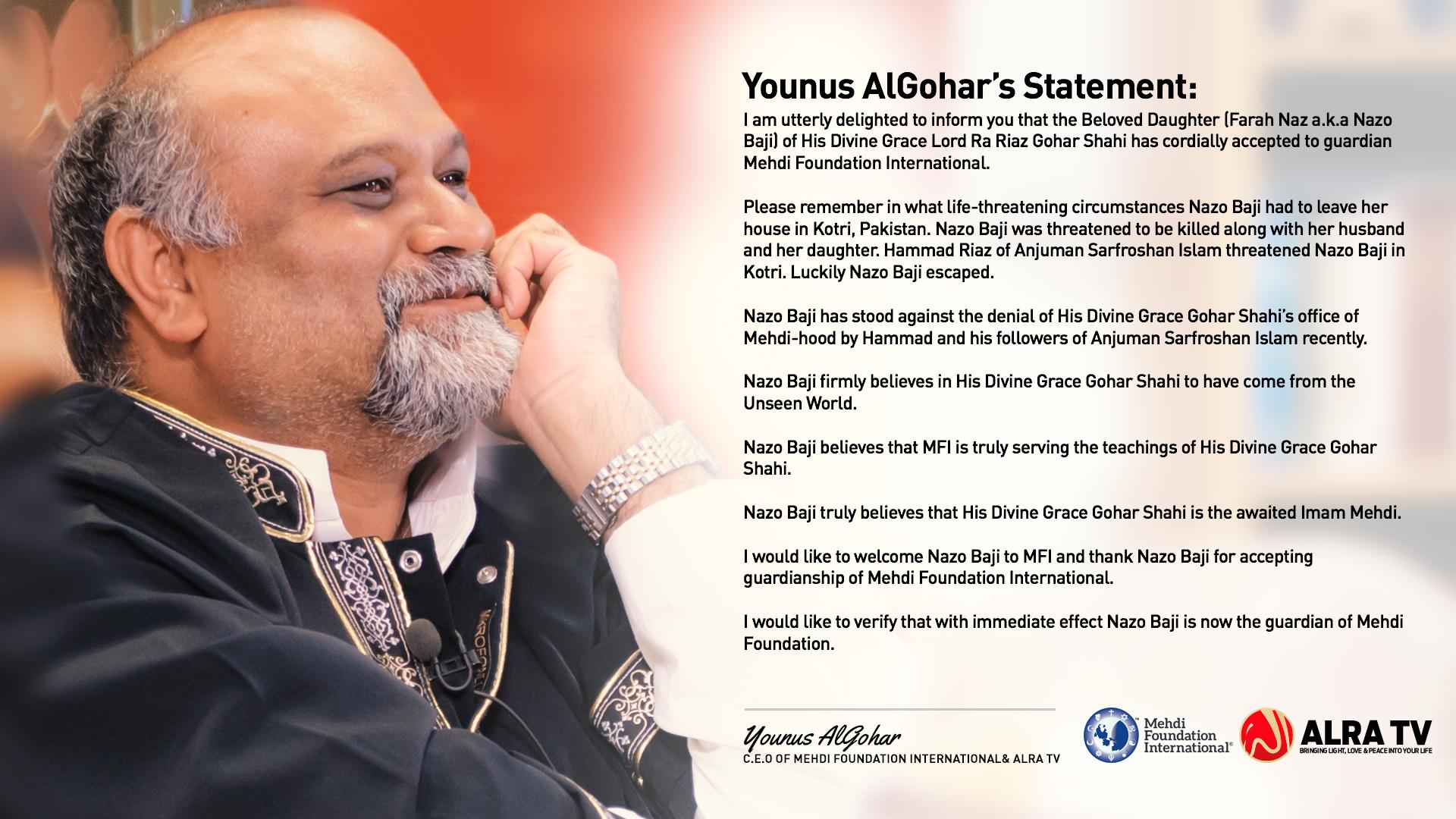 YAG Statement