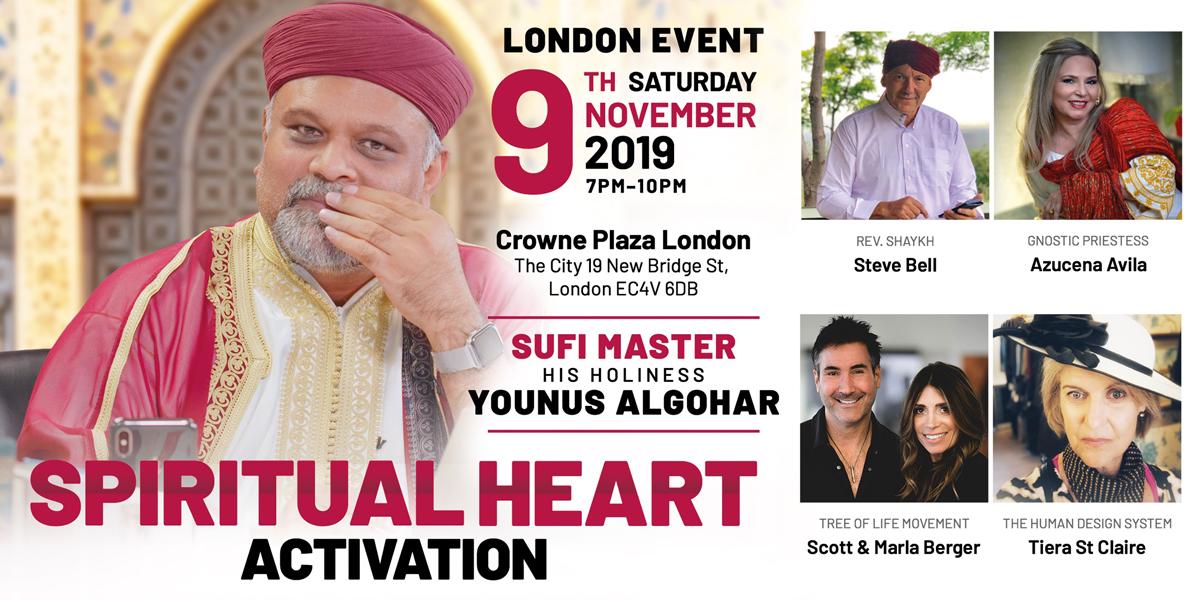 London Spiritual Heart Activation