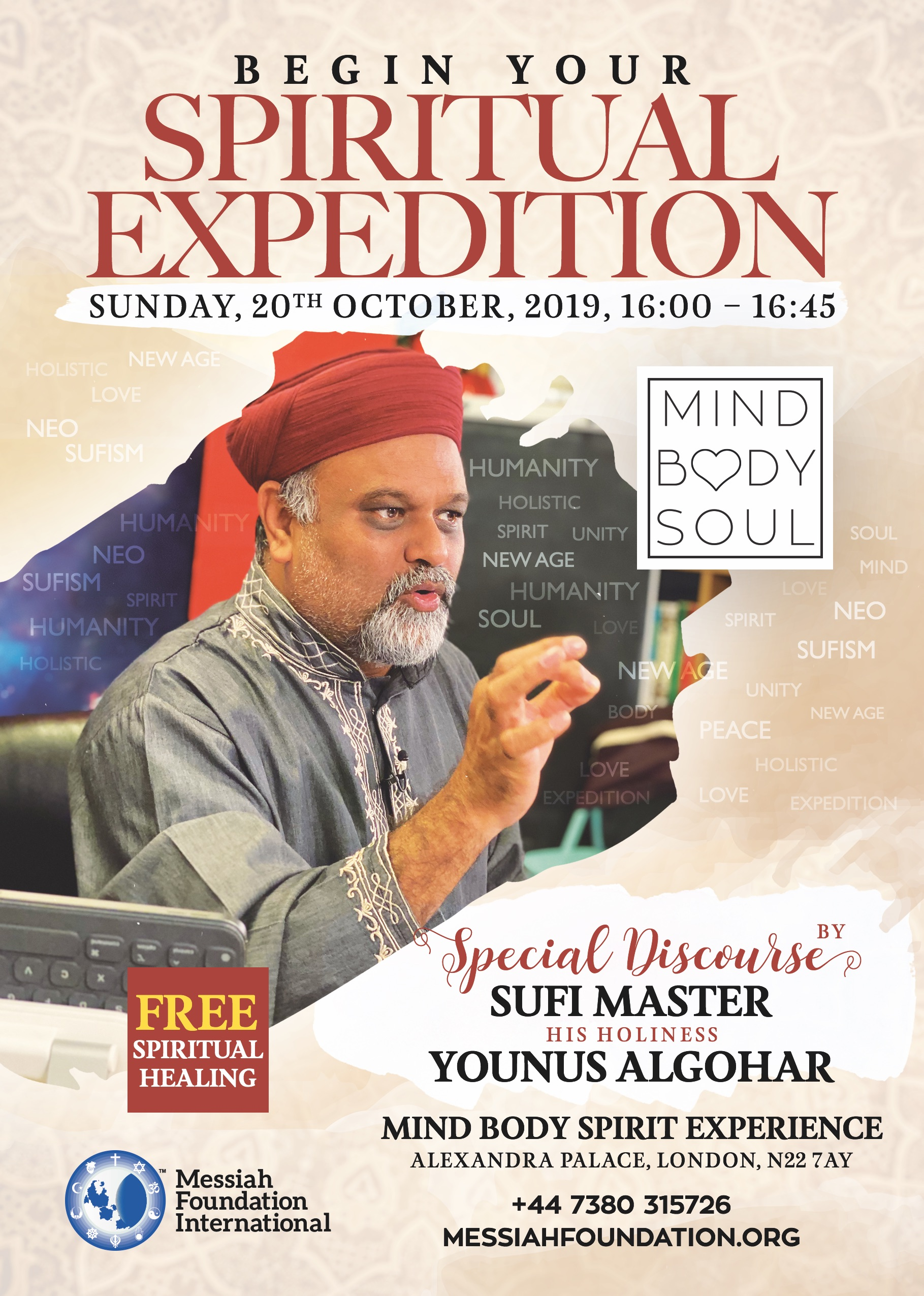 Mind Body Soul Experience London Discourse