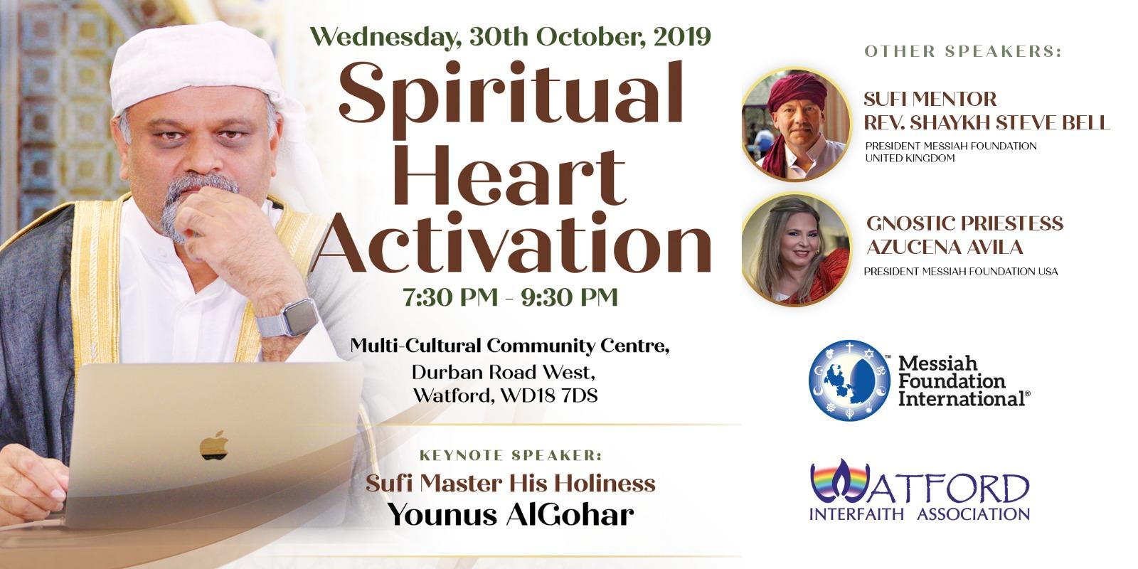 Watford Spiritual Heart Activation