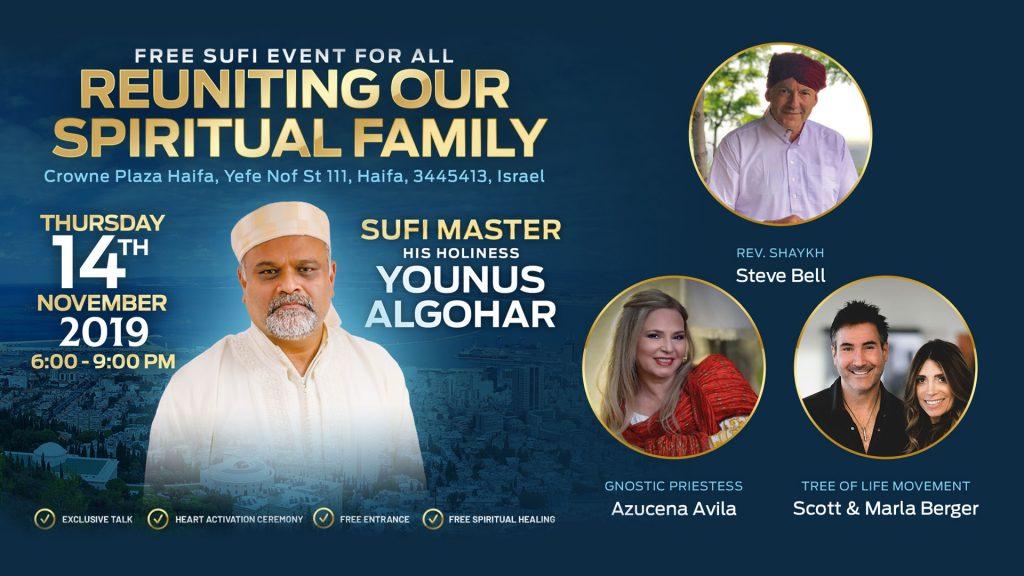 Reuniting Our Spiritual Family – Haifa, Israel